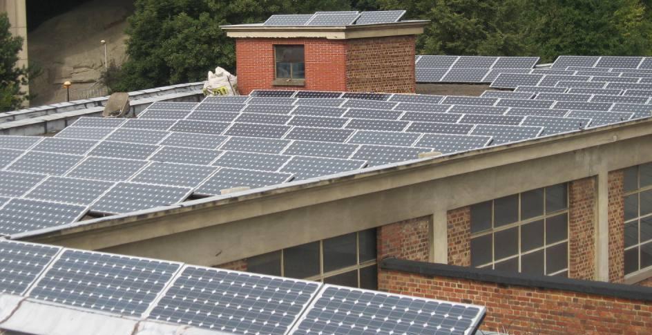 La plus grande installation photovoltaïque en Wallonie
