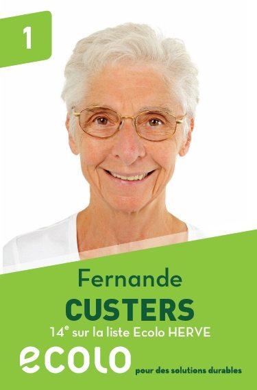 14 : Fernande Custers